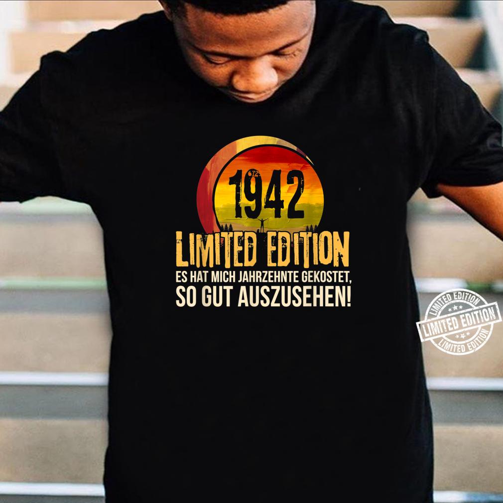 78. Geburtstag Jahrgang 1942 Limited Edition Geschenk Shirt