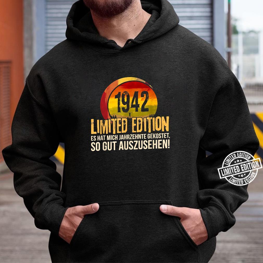 78. Geburtstag Jahrgang 1942 Limited Edition Geschenk Shirt hoodie