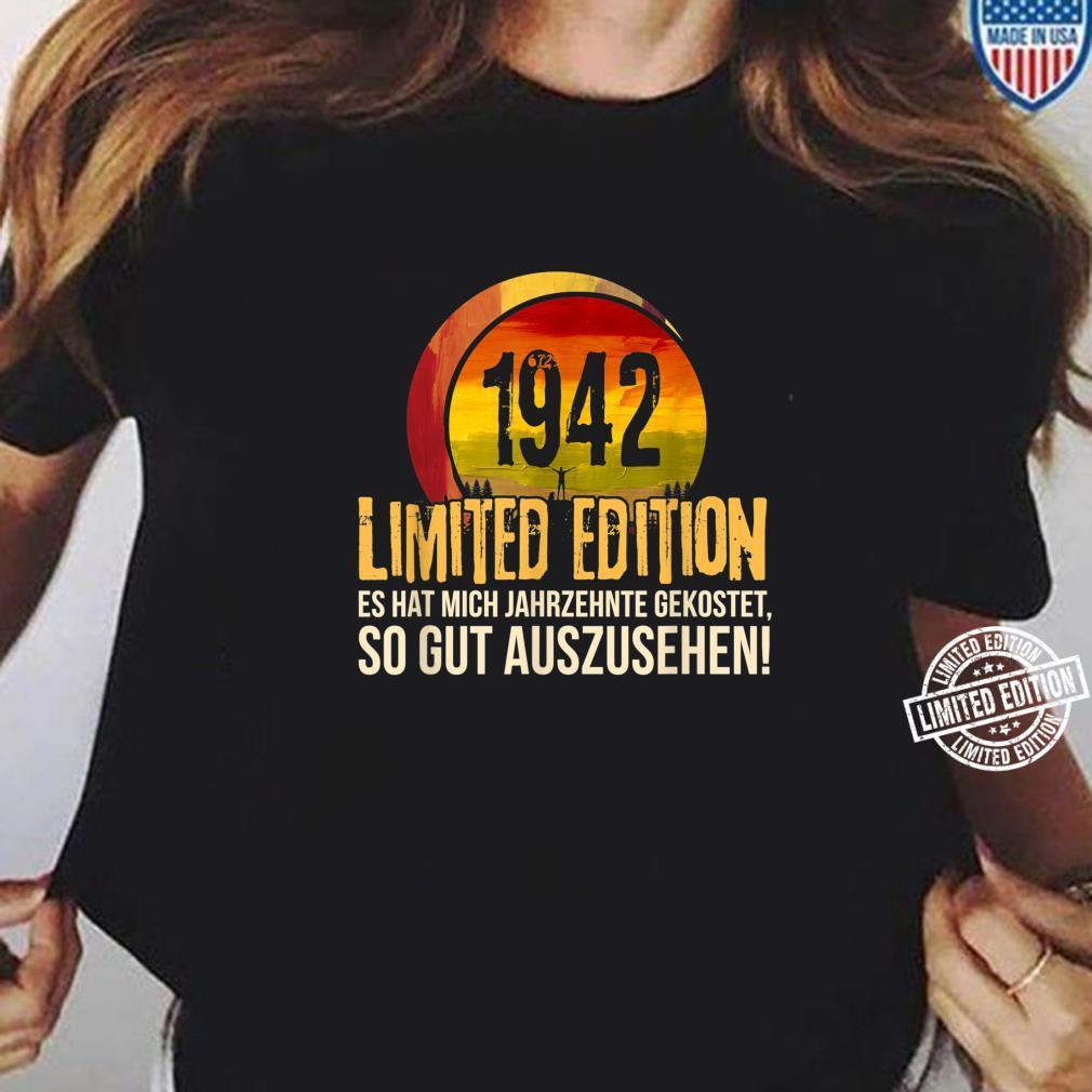 78. Geburtstag Jahrgang 1942 Limited Edition Geschenk Shirt ladies tee