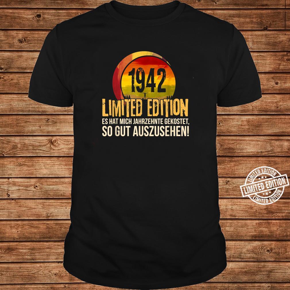 78. Geburtstag Jahrgang 1942 Limited Edition Geschenk Shirt long sleeved