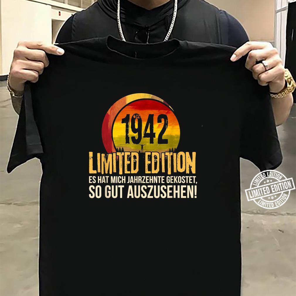 78. Geburtstag Jahrgang 1942 Limited Edition Geschenk Shirt sweater